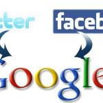 Twitter , Facebook и сео