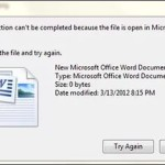 Быстрое удаление заблокированного файла