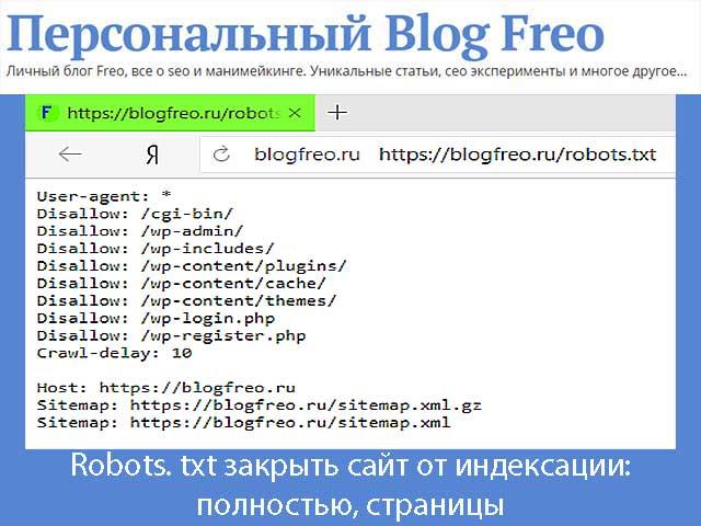 Как с помощью robots. txt закрыть сайт от индексации: простые шаблоны и как их применять